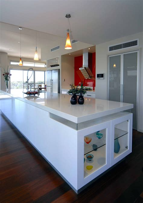 Australian Kitchens Designs Glossy White Kitchen Design Trend Digsdigs