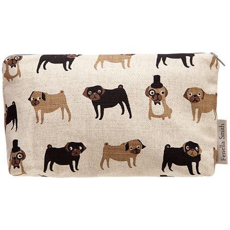 fenella smith pug fenella smith pug linen make up bag small grand uk