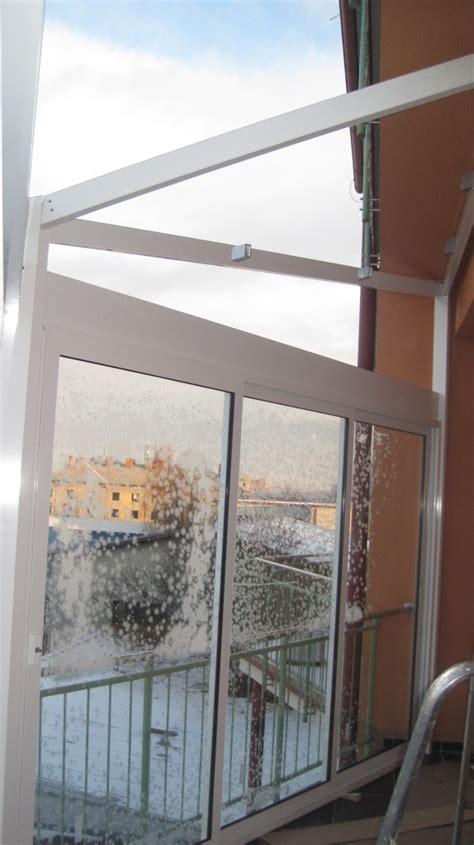 bedachung terrasse bedachung und verglasung der terrasse auf dem wohnhaus