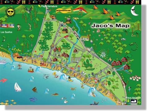 san jose costa rica nightlife map things to do around jaco costa rica travel