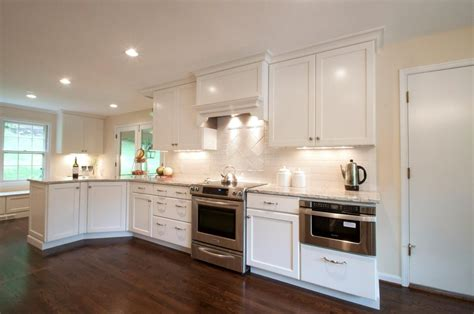 White Cabinets by Subway Tile Backsplash Ideas With White Cabinets Home