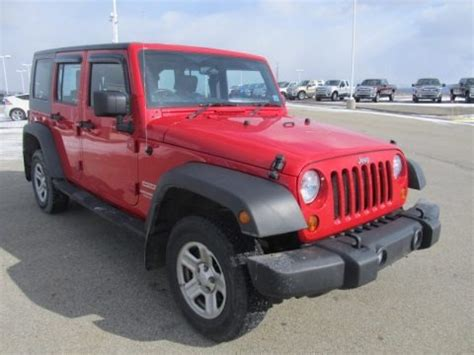 Jeep Right Drive 2010 Jeep Wrangler Unlimited Sport 4x4 Right Drive