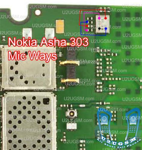 nokia 300 mic solution all cellular mobile repair solution nokia asha 303 mic