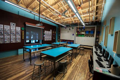room maker gamedesk celebrates year at playmaker school introduces transformed classrooms