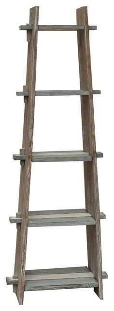 Etagere Yolo by Nantucket Weathered Wood Etagere Farmhouse Bookcases