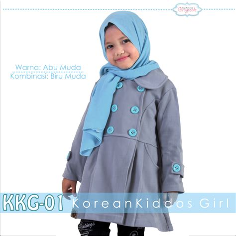 Jaket Anak Korea Khg10 Grayscale jual jaket grayscale anak
