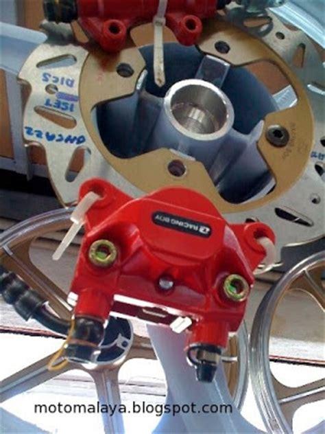 Racing Boy Handle Rem R25 yamaha lc135 rear disc brake kit again motomalaya