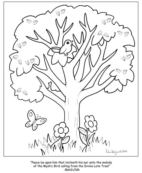 coloring pages of birds in trees divine lote tree color page by familiaroddlings on