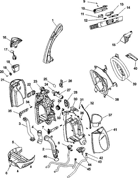 Tvr S Alternative Parts List Hoover Steamvac Replacement Parts Usa Vacuum