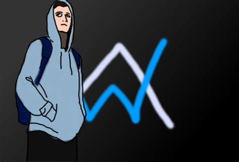 alan walker cartoon alan walker drawing by destuert on deviantart