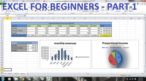 excel tutorial help com how to use excel 2010 tutorial for beginners part 1 how
