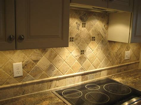 stone tile kitchen backsplash 1000 ideas about stone backsplash on pinterest stacked