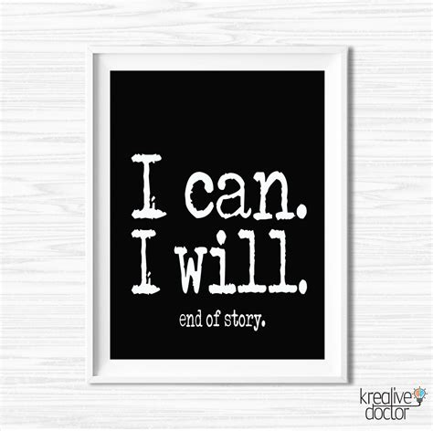 printable inspirational wall art printable motivational wall decor success quotes by