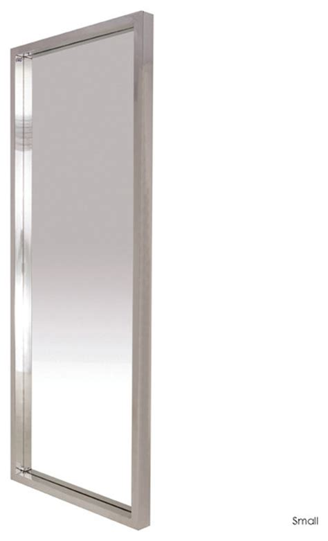 glam floor mirror narrow small contemporary floor mirrors by inmod