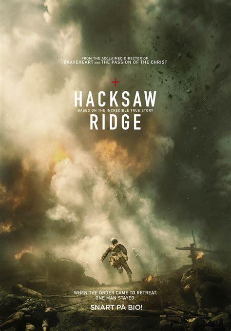 hacksaw ridge 2016 recension hacksaw ridge 2016