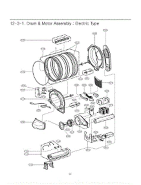 lg dryer parts diagram parts for lg dle5932w abweeus dryer appliancepartspros