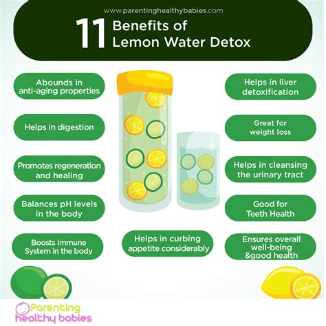 Detox Water And Its Benefits by 11 Benefits Of Lemon Water Detox