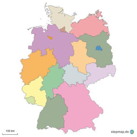Deutsches Büro Grüne Karte Adresse by Bundesl 228 Nder Pepedoscanones Landkarte F 252 R