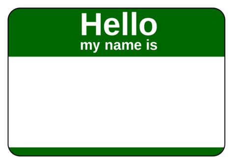 name templates name tag label templates hello my name is templates