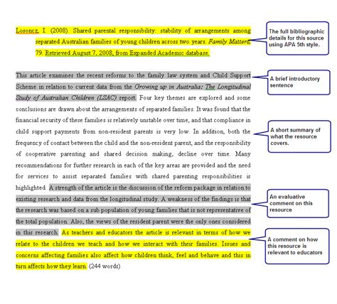 Annotated Essay Exle by Top Essay Writing Annotated Bibliography History Paper