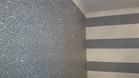 Glitter Wallpaper Renfrewshire | d and p decor paint stripping company in giffnock