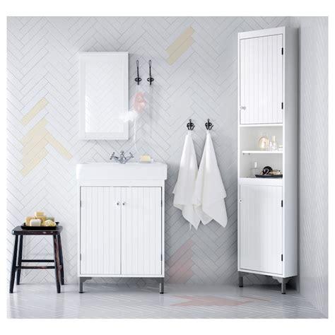 silveran sink cabinet   doors white ikea