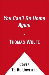 you can t go home again by wolfe paperback