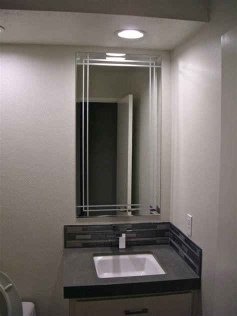 etched bathroom mirror entrancing 80 etched bathroom mirrors decorating