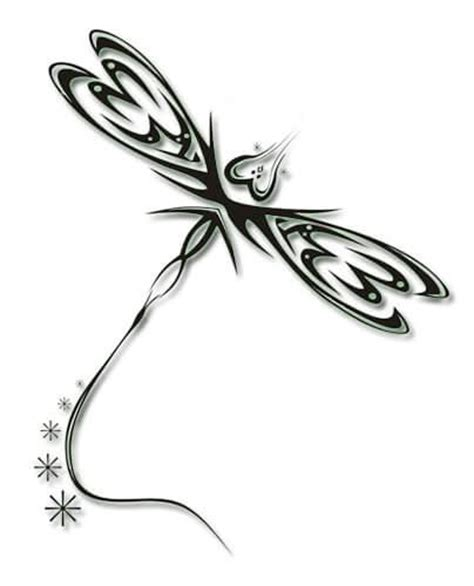 tribal dragonfly tattoo meaning dragonfly designs the is a canvas