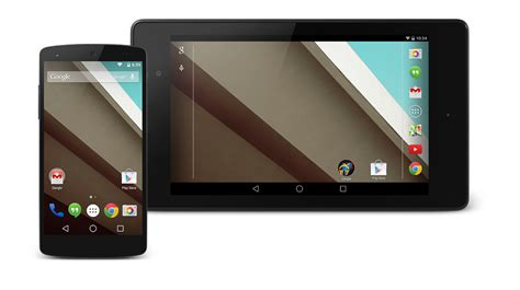 android l developer preview goes live in aosp for nexus devices