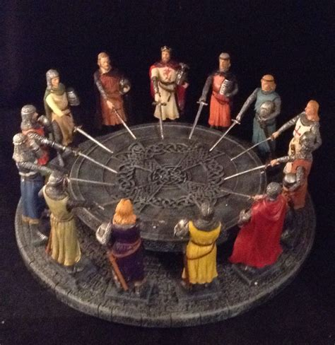 king arthur and the knights of the table knights of the table king arthur sculpture