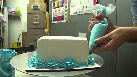 home made cake decorations basic cake decoration youtube