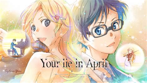 anime your lie in april your lie in april full hd wallpaper and background image