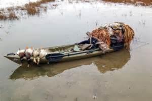 canoe blind diy kayak duck blind wildfowl