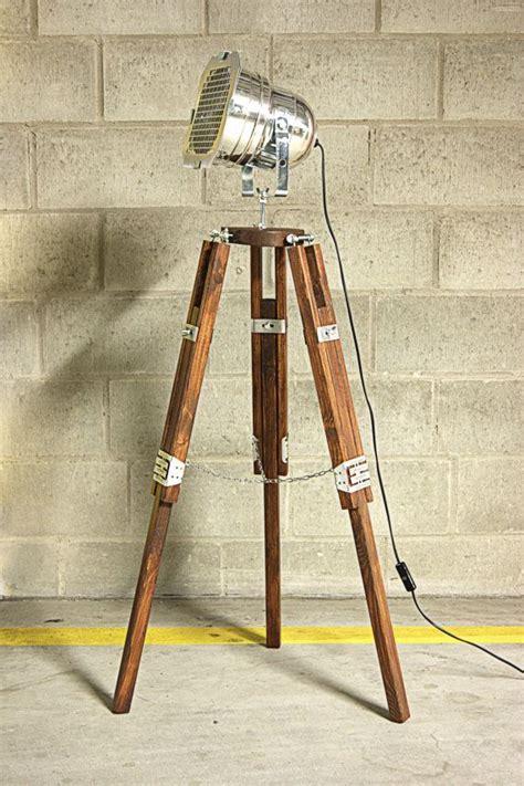 rustic industrial floor ls industrial floor l tripod chrom classic by