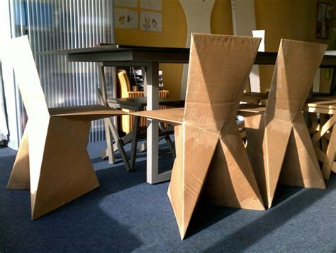 choice of furniture from cardboard home ideas modern