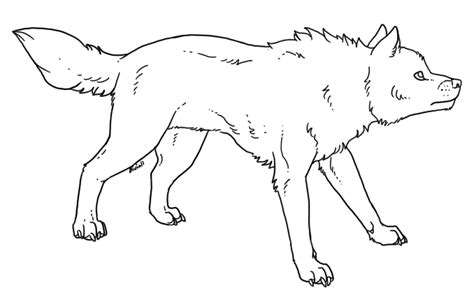 wolf template free wolf template by ferianmoon on deviantart