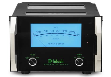 mcintosh mc2kw lifier 1 channel 2000 watts mcintosh