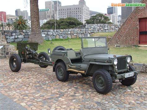 Jeep For Sale In South Africa 1952 Jeep Willys 1952 Used Car For Sale In Cape Town South