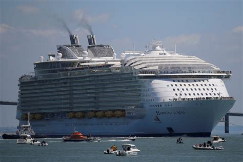 harmony of the seas debut business insider
