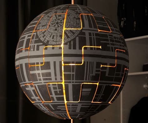 Idea Lamp ikea ps 2014 death star lamp 4 steps with pictures
