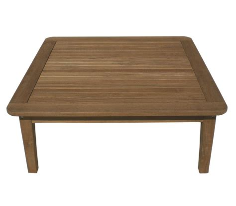 royal teak collection miami 42 square coffee table miat42s