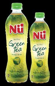 Nu Minuman Green Tea Honey 330ml abc beverage pt primakemas cemerlang
