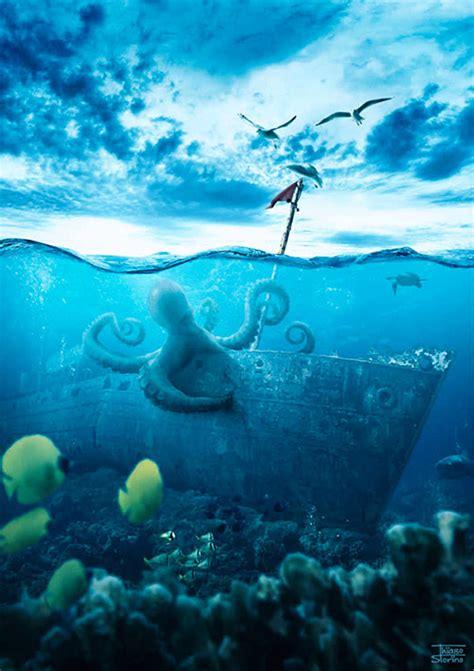 Underwater Pattern Photoshop | a set of helpful underwater photoshop tutorials naldz