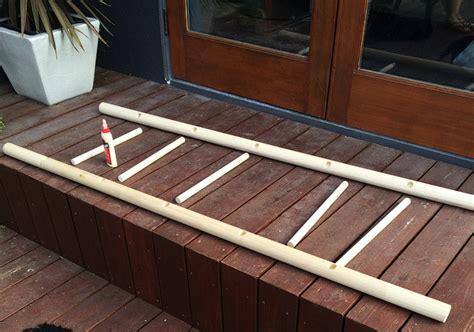 Build A Ladder Rack by Sherman Samuel Bathroom Refresh Diy Towel Ladder