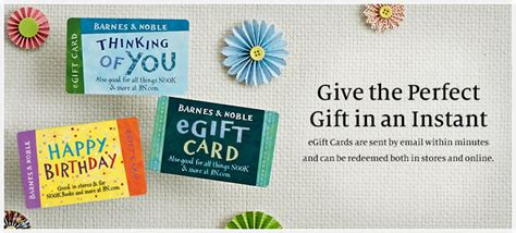 Barnes N Noble Gift Card - 100 egift cards barnes u0026 noble over 80 gift card bogo deals and promos for