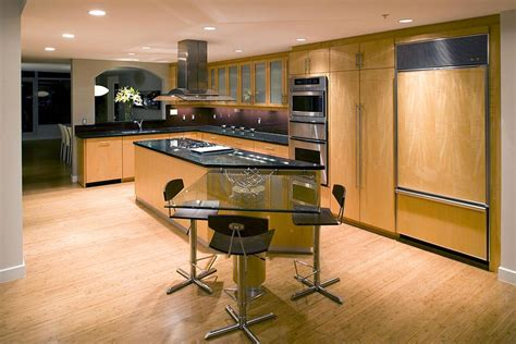 Bamboo Kitchen Design bamboo flooring for residential kitchens