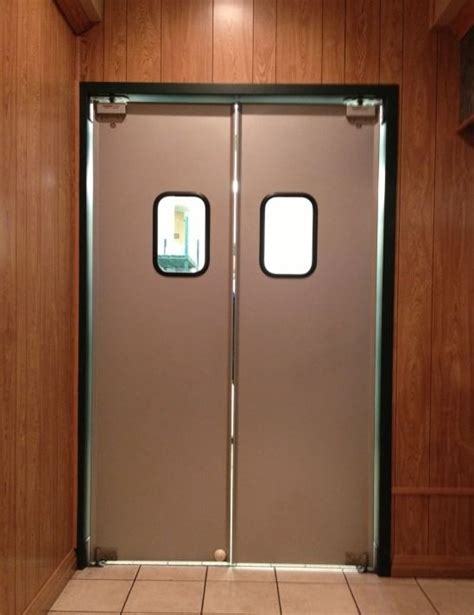 door swing aluminum swinging doors paylon swinging doors