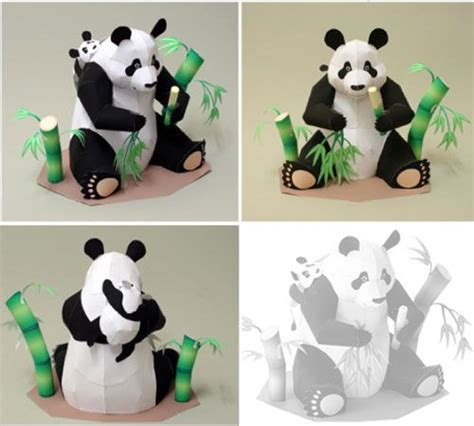 Panda Papercraft - 1786 best bricolage images on paper houses