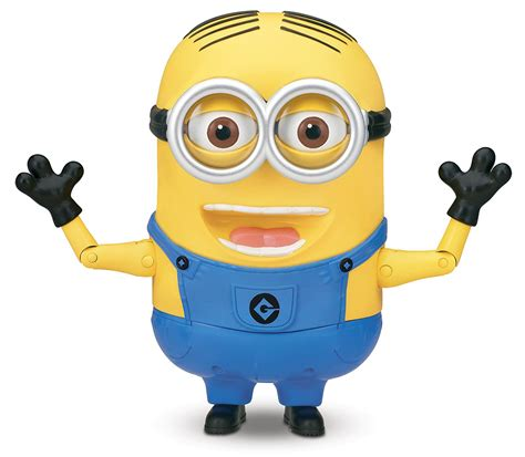 Figure Minion despicable me 2 minion dave talking figure review